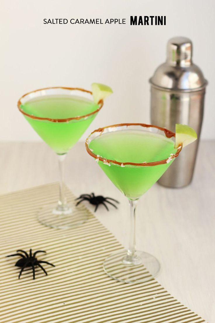 Thirsty Thursday: Salted Caramel Apple Martini   GoldLabl